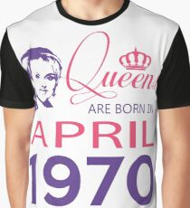 It's My Birthday 48. Made In April 1970. 1970 Gift Ideas. Graphic T-Shirt