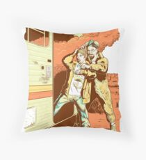 Breaking Bad to the Future Throw Pillow