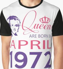 It's My Birthday 46. Made In April 1972. 1972 Gift Ideas. Graphic T-Shirt