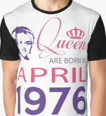 It's My Birthday 42. Made In April 1976. 1976 Gift Ideas. Graphic T-Shirt