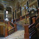 Lvov Opera House Interior by Elena Skvortsova