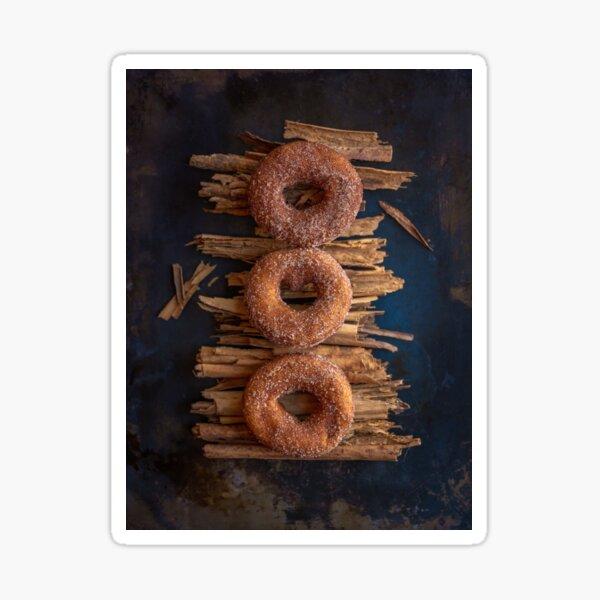 warm cider donuts Sticker