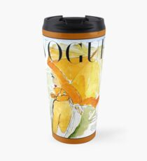 VOGUE : Vintage 1950 Magazine Advertising Print Travel Mug