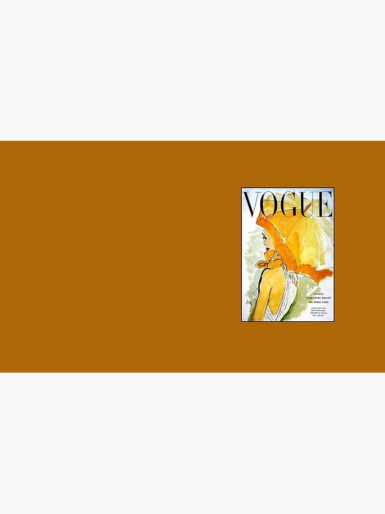 VOGUE: Jahrgang 1950 Werbung Werbung Print von posterbobs