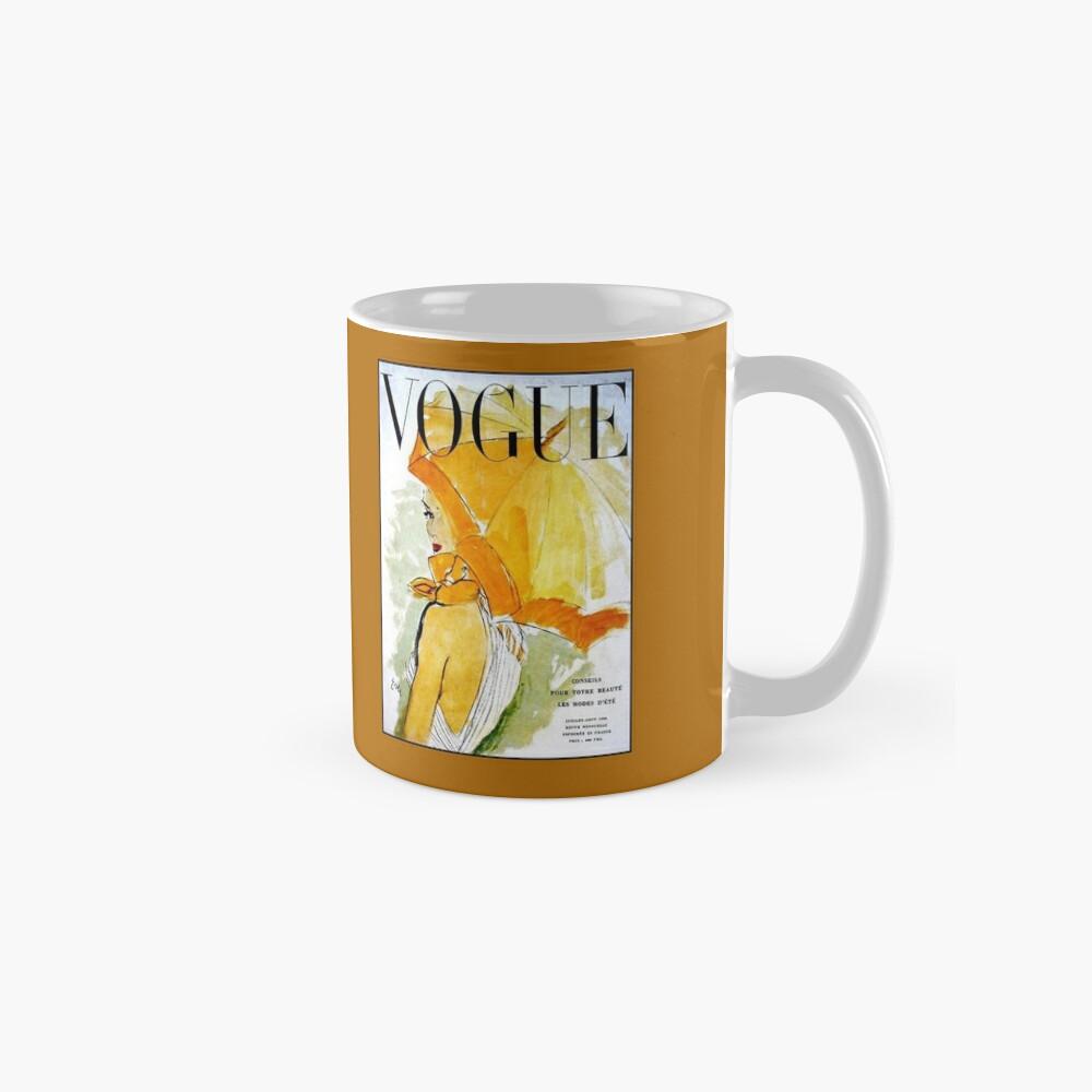 VOGUE: Jahrgang 1950 Werbung Werbung Print Tasse (Standard)