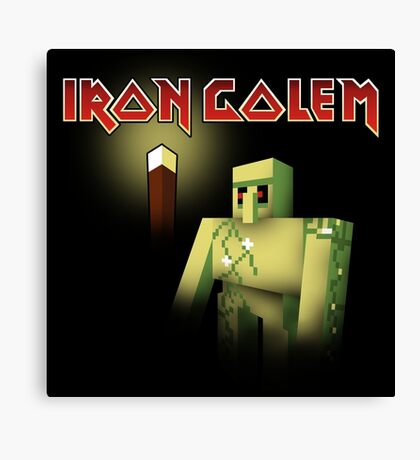 Iron Golem Canvas Print