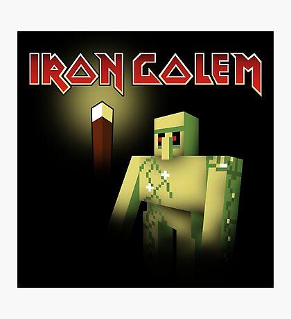 Iron Golem Photographic Print