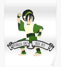 Toph - Disabled Girls Kick Ass Poster