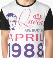 It's My Birthday 30. Made In April 1988. 1988 Gift Ideas. Graphic T-Shirt