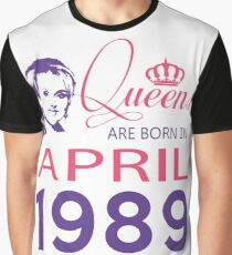 It's My Birthday 29. Made In April 1989. 1989 Gift Ideas. Graphic T-Shirt