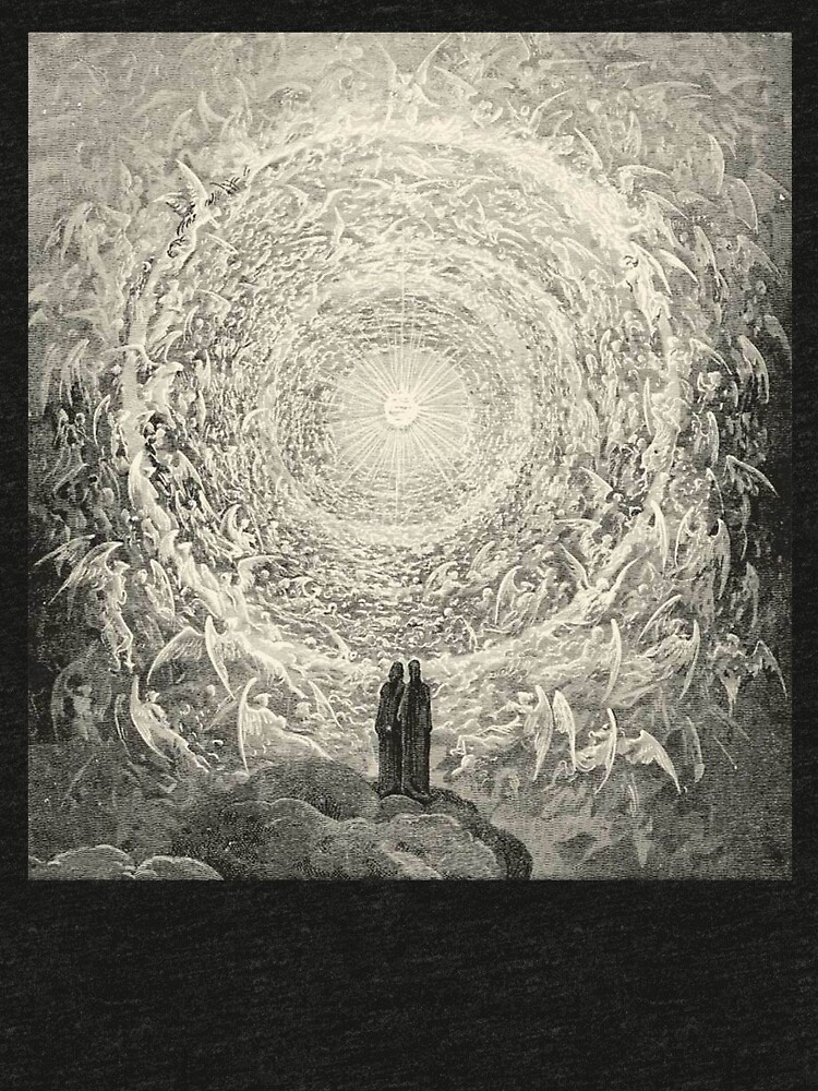 Dante, Heaven, Heavenly, The Divine Comedy, Gustave Doré, Highest, Heaven by TOMSREDBUBBLE