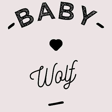 Baby wolf- by lepetitcalamar