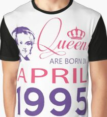 It's My Birthday 23. Made In April 1995. 1995 Gift Ideas. Graphic T-Shirt