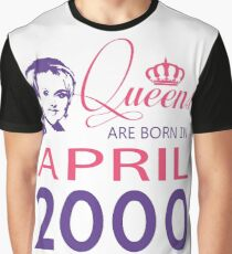It's My Birthday 18. Made In April 2000. 2000 Gift Ideas. Graphic T-Shirt