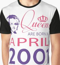 It's My Birthday 17. Made In April 2001. 2001 Gift Ideas. Graphic T-Shirt