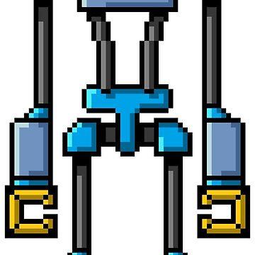 Pixel Robot 135 by Vampireslug