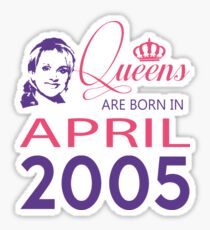 It's My Birthday 13. Made In April 2005. 2005 Gift Ideas. Sticker