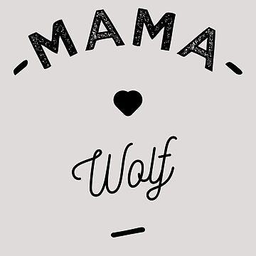 Mama wolf - by lepetitcalamar