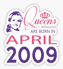 It's My Birthday 9. Made In April 2009. 2009 Gift Ideas. Sticker