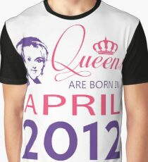 It's My Birthday 6. Made In April 2012. 2012 Gift Ideas. Graphic T-Shirt
