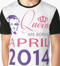 It's My Birthday 4. Made In April 2014. 2014 Gift Ideas. Graphic T-Shirt