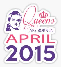 It's My Birthday 3. Made In April 2015. 2015 Gift Ideas. Sticker