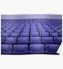 Empty Stadium Seating, Ajax Amsterdam Arena  Poster