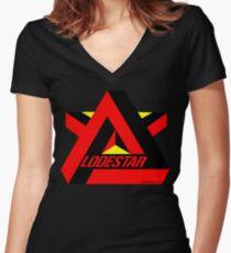Lodestar Women's Fitted V-Neck T-Shirt