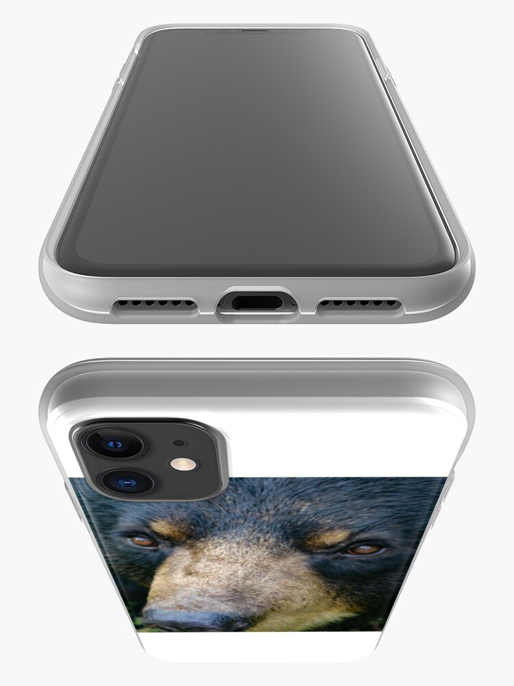 Alternate view of Bear close up iPhone Case & Cover