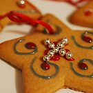 Gingerbread Star by alexandra jordan