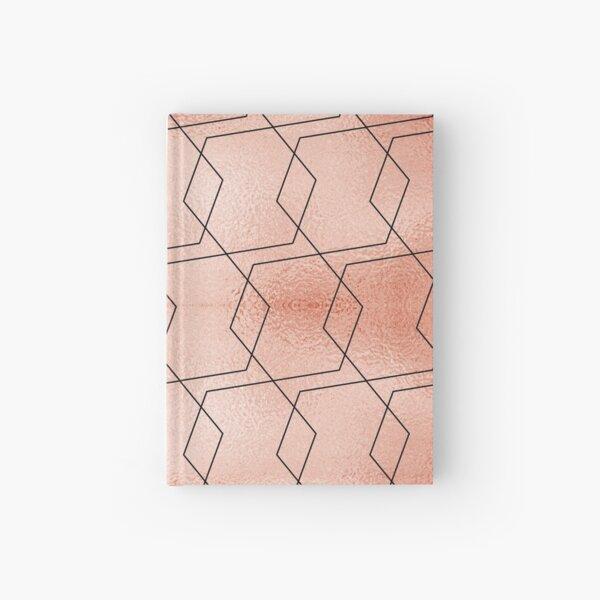 Gold rose foil texture, GoldroseFT002 Hardcover Journal