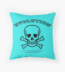 EVOLUTION at work! Throw Pillow