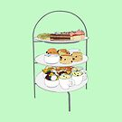 English Afternoon Tea Cakes by m-lapino