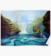 Fantasy Monster Poster