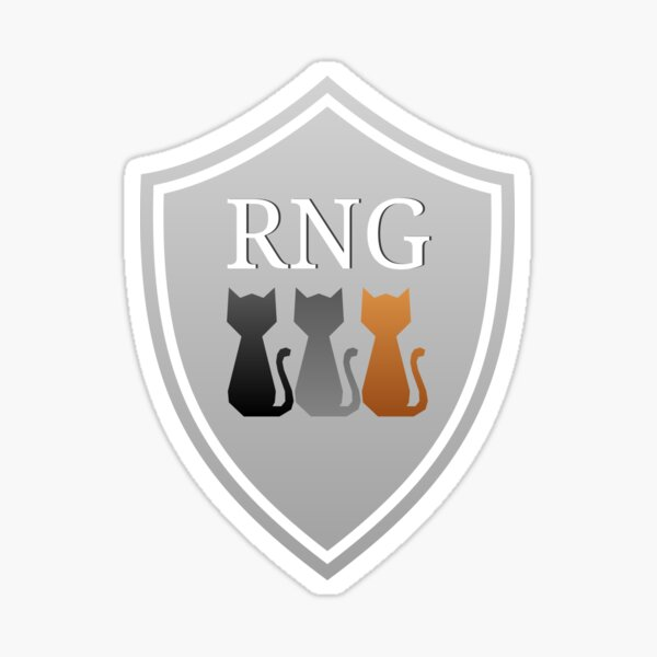 RNG Gaming Logo Sticker