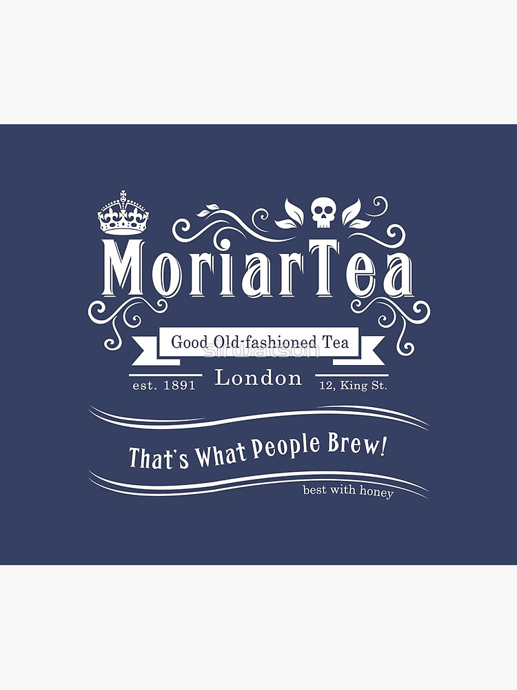 MoriarTea 2014 Edition (white) by sirwatson