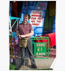 Funfair worker Poster
