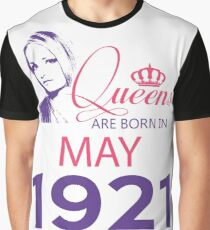 It's My Birthday 97. Made In May 1921. 1921 Gift Ideas. Graphic T-Shirt
