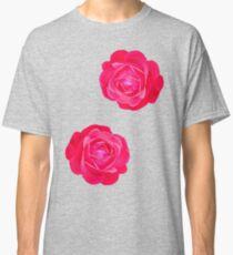 Two pink roses Classic T-Shirt