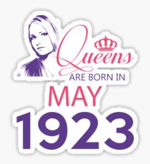 It's My Birthday 95. Made In May 1923. 1923 Gift Ideas. Sticker