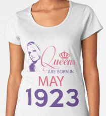 It's My Birthday 95. Made In May 1923. 1923 Gift Ideas. Women's Premium T-Shirt