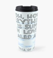 Healed- Blue Water Travel Mug