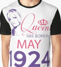 It's My Birthday 94. Made In May 1924. 1924 Gift Ideas. Graphic T-Shirt