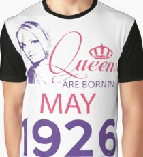 It's My Birthday 92. Made In May 1926. 1926 Gift Ideas. Graphic T-Shirt