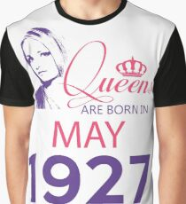It's My Birthday 91. Made In May 1927. 1927 Gift Ideas. Graphic T-Shirt