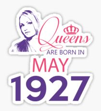 It's My Birthday 91. Made In May 1927. 1927 Gift Ideas. Sticker