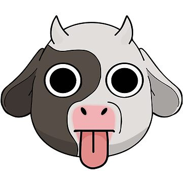 Crazy 'Cow Chop' mascot by FuzzyDesigns