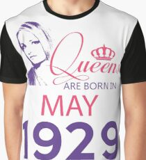 It's My Birthday 89. Made In May 1929. 1929 Gift Ideas. Graphic T-Shirt
