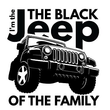 The Black Jeep of the Family by Not-so-Alien