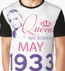 It's My Birthday 85. Made In May 1933. 1933 Gift Ideas. Graphic T-Shirt